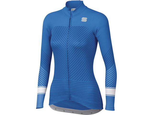Sportful Flow LS Jersey Women parrot blu